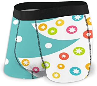 Christmas Cat Holly Boxer Briefs Mens Underwear Pack Seamless Comfort Soft