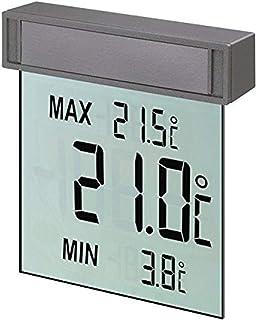 Tfa Dostmann 30.1025 Cyfrowy Termometr Okienny, Srebrny