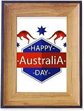 DIYthinker Happy Australia Day Ostrich and Star Illustration Photo Frame Desktop Display Picture Art Painting Holder