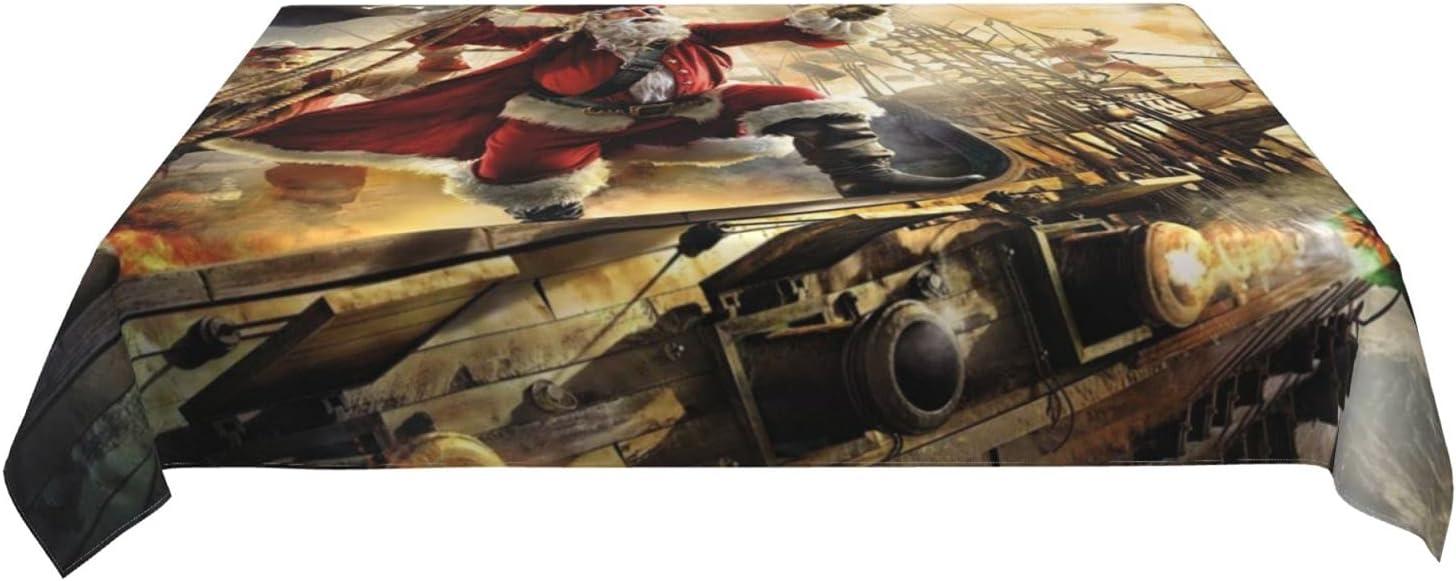 Roechneck Chrismas Max 54% OFF Pirate Waterproof Tableclothsï¼à Al sold out. Design
