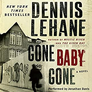 Gone, Baby, Gone audiobook cover art