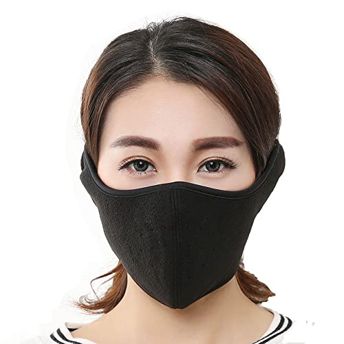 KAPOSEV Mouth Mask Warmer Cotton Fleece Mask Anti Dust Face Muffle Mask for  Men Women Boy cae7e6f9d4