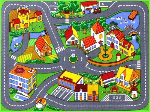 HEVO Quiet Town Teppich Kinderteppich   Spielteppich 95x133 cm