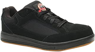 brahma men's grate steel toe skate sneaker
