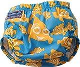 Konfidence - Pannolino da Nuoto, Taglia Unica, Motivo: Pesce Pagliaccio, Blu (Clownfish), Taglia Unica