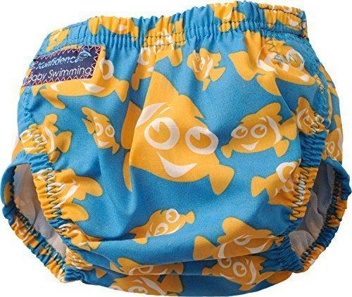 Konfidence Schwimmwindel, Design Clownfisch, Einheitsgröße Blau Clownfish Einheitsgröße