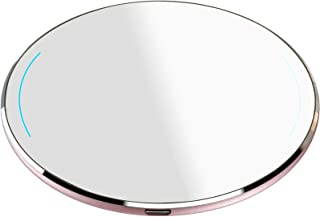 TOZO Wireless Charger Upgraded, Ultra Thin Aviation Aluminum [Sleep-Friendly] FastCharging Pad for iPhone Xs, XR, Xs Max, ...