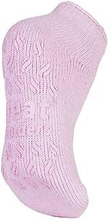 Ladies low cut thermal slipper ankle socks in 4 colors, 5-9 US