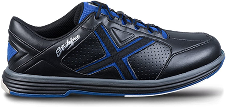 KR Strikeforce Mens Ranger Bowling shoes Black bluee
