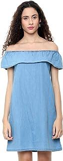 People Cotton a-line Dress