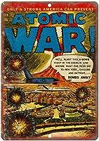 Atomic War Ace Comic ティンサイン ポスター ン サイン プレート ブリキ看板 ホーム バーために