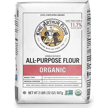 King Arthur Flour Organic Unbleached All Purpose Flour - 2 lbs