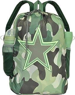 Kids Camouflage 4 Piece Sleepover Set - Sleeping Bag, Backpack, Water Bottle & Flashlight