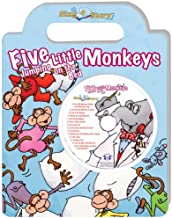 Five Little Monkeys Jumping on the Bed Sing a Story Handled Board Book with CD