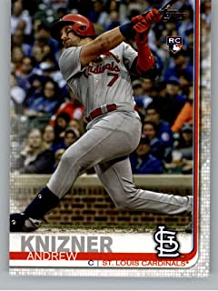 2019 Topps Update (Series 3) #US182 Andrew Knizner RC Rookie St. Louis Cardinals Official Baseball Trading Card