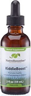Native Remedies KiddieBoost - All Natural Herbal Supplement Promotes Healthy Immune System Functioning in Children - Supports Healthy Childhood Immunity - 59 mL