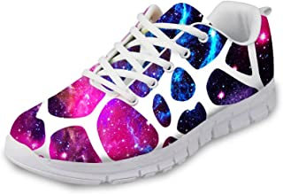 FOR U DESIGNS Fashion Galaxy Men s   Women s Breathable Mesh Sneakers  Running Shoes 96af28376