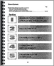 ih hydrostatic transmission repair