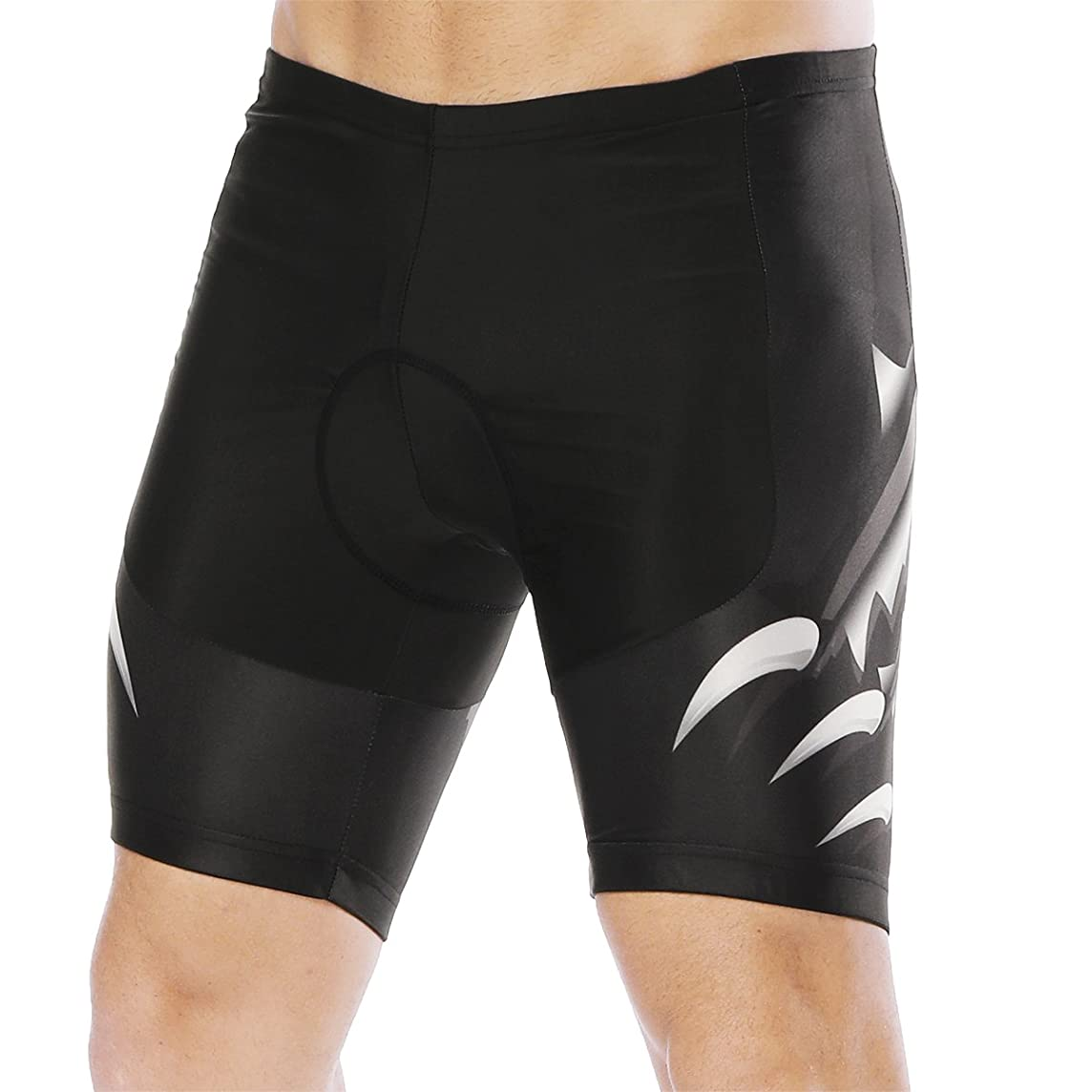 YOOKI Men's Cycling Shorts 3D Padded Bicycle Riding Pants Bike Biking Cycle Wear Tights
