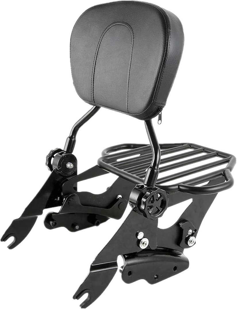 TCMT Detachable Passenger Backrest Sissy With Bar 2-Up R Fort Special sale item Worth Mall Luggage