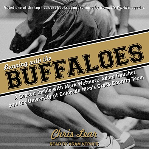 Running with the Buffaloes audiobook cover art