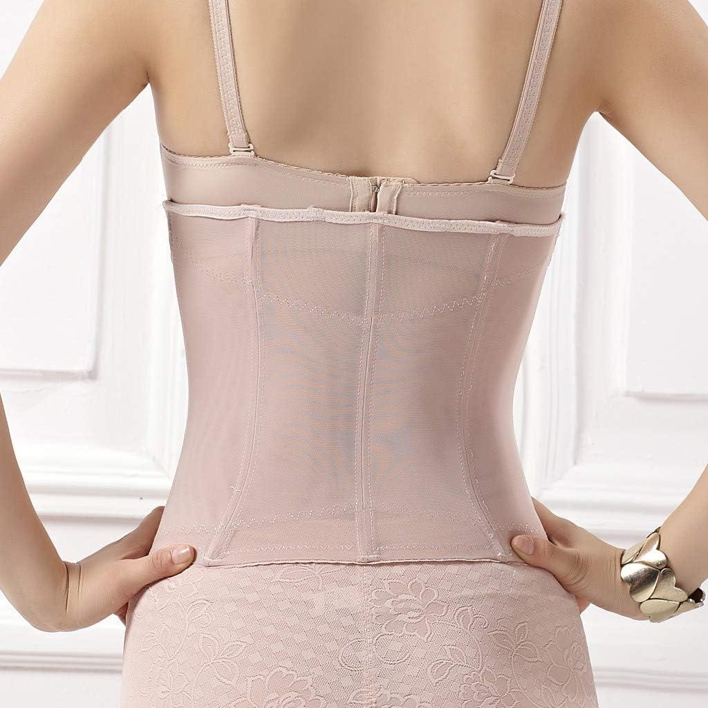 MRULIC Waist Trainer for Weight Loss Women Zip Front Waist Cincher Body-Shaping Corset