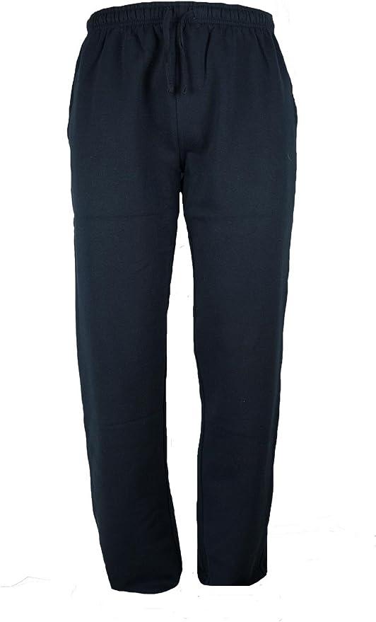 BE BOARD Pantalone Uomo Tuta Invernale 9036 Felpato Colore Grafite Gamba Dritta