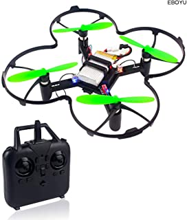 OD.zepp 2.4Ghz 0.3MP WiFi Camera Mini DIY Drone,RC Aircraft WiFi FPV Altitude Hold Headless Mode Training Educational RC Quadcopter Drone Toy