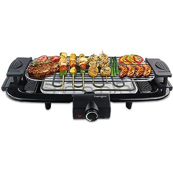 TEFAL Barbecue électrique + kit de 6 brochettes Easy Grill