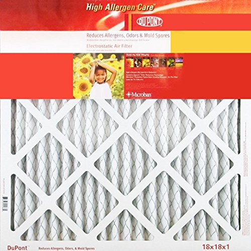 Review Of 16.38x21.5x1 (Actual Size) DuPont High Allergen Care Electrostatic Air Filter, MERV 10