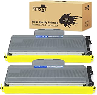 MIROO Compatible Toner Cartridge Replacement for Brother TN360 TN-360 TN330 TN-330 High Yield(2-Pack),Use on Brother HL-2170W HL-2140 MFC-7840W DCP-7040 MFC-7340 DCP-7030 MFC-7345N MFC-7440N Printer