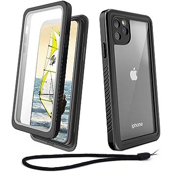 Coque Étanche for iPhone 11 Full Body Etui avec Protection écran intégré Antipoussière Anti
