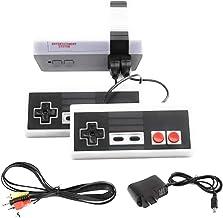 MSE Mini console de jeu rétro classique des années 1980 avec 620 jeux intégrés, 2 manettes de style NES avec sortie AV