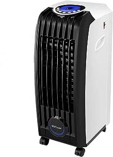 MVPower Raffreddatore d'Aria, 3 in 1 Raffrescatore Evaporativo 60W Ventilatore Portatile, Umidificatore, Capienza Serbatoi...