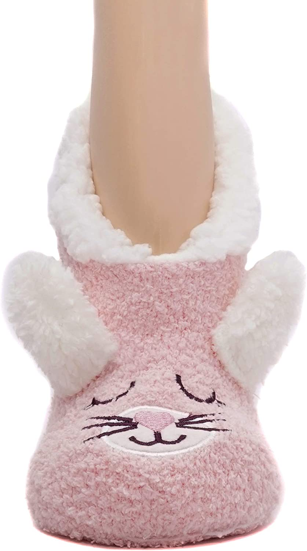 Women Warm Super Soft Plush Slipper Sock Winter Fluffy Microfiber Crew Socks Casual Home Sleeping Fuzzy Cozy Sockmen Cute Soft Gripper Socks