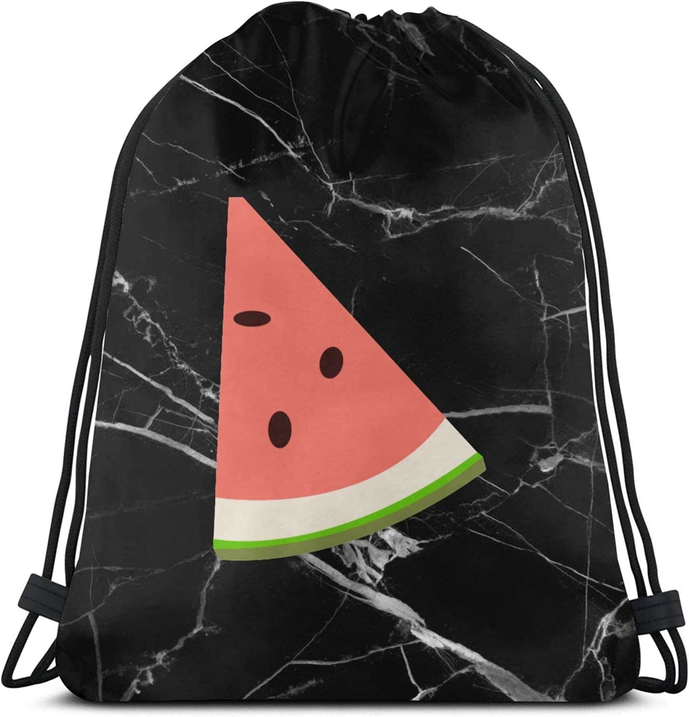 Watermelon Drawstring Backpac k Bombing free shipping Sports Bags for String Bag Max 70% OFF Gym H