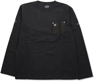(ショット) Schott 長袖 鹿革 ポケットTシャツ ワンスター 国内正規品 ブラック 3173078-09