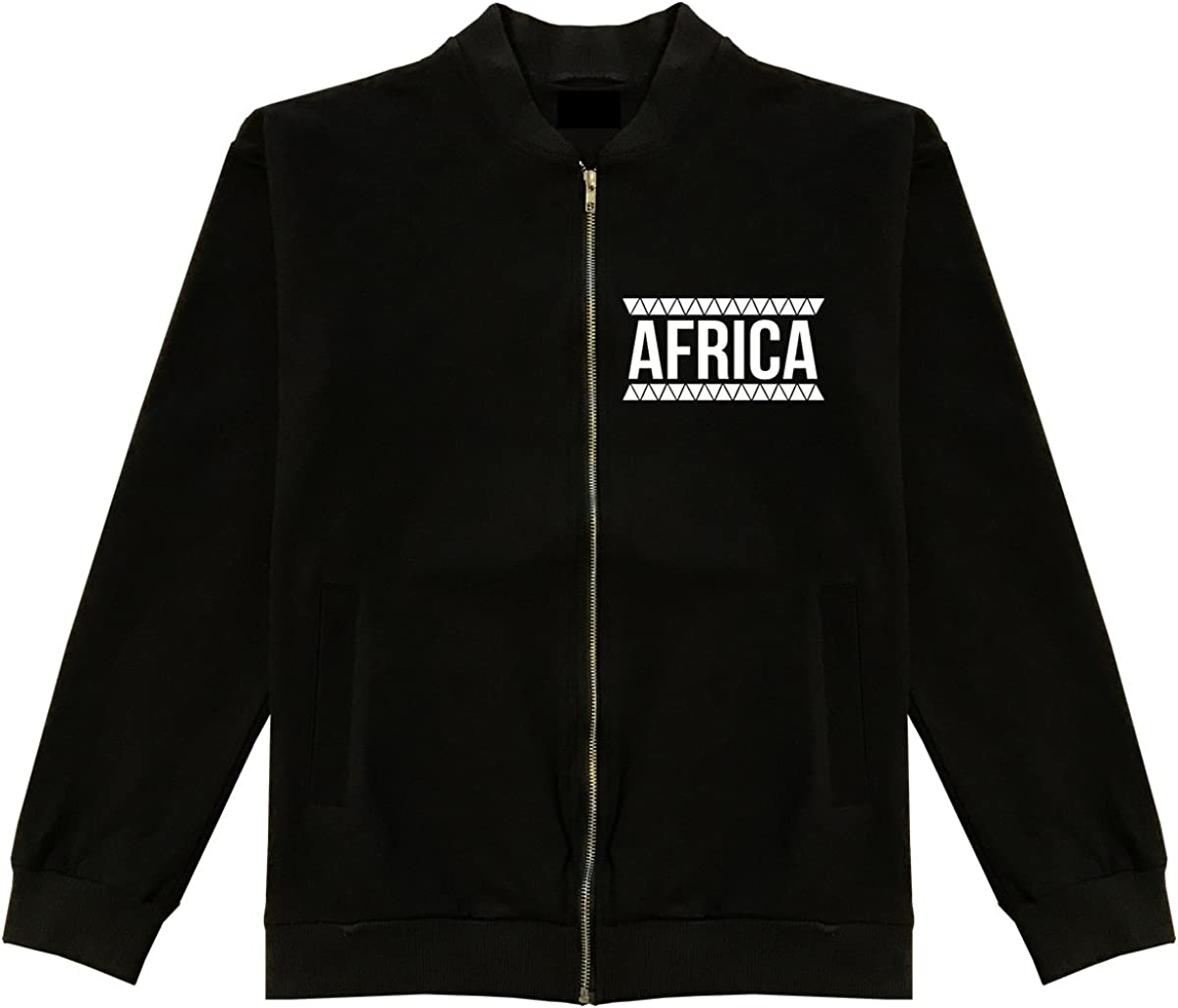 Kings 2021 autumn and winter new Of OFFicial NY Afirca Pattern Bomber Tribal Jacket Cotton