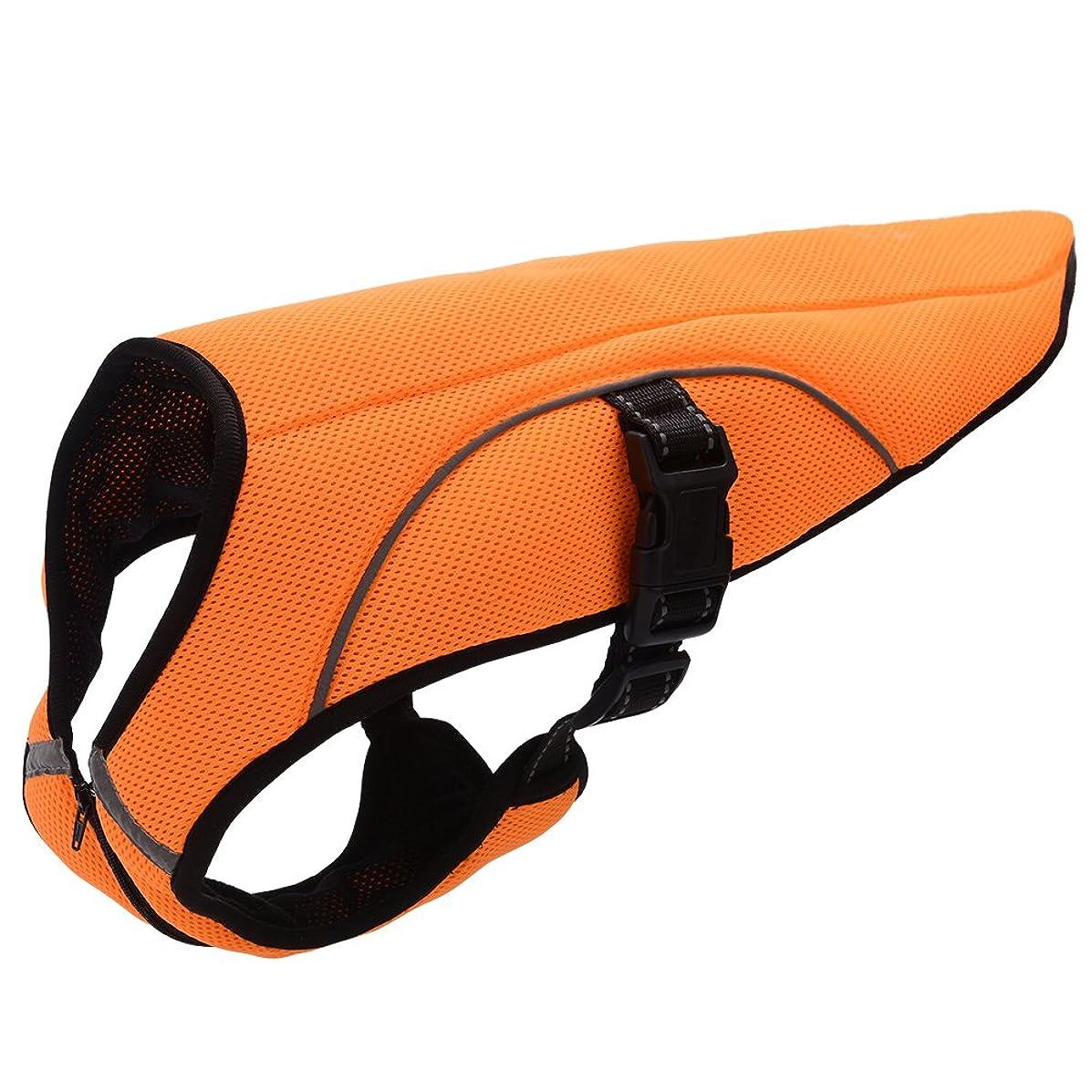 BINGPET Dog Cooling Jacket Evaporative Swamp Cooler Vest Reflective Safety Pet Hunting Harness by