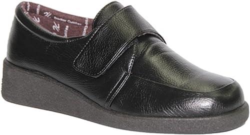 Zapato Velcro pies Muy Delicado Doctor Cutillas en schwarz