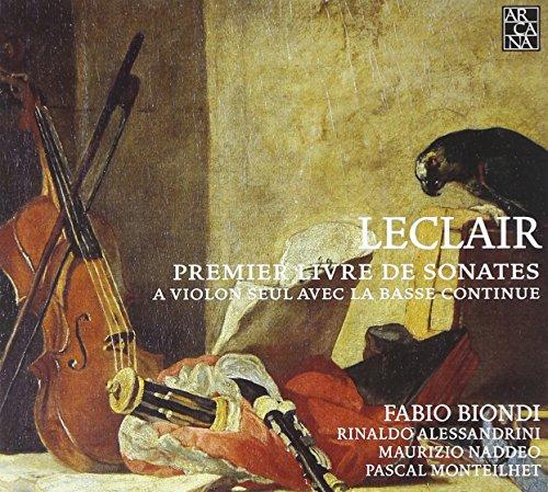 First Book of Sonatas for Solo Violin [Importado]