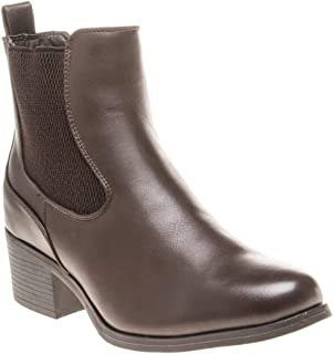 SOLESISTER Quincy Chelsea Womens Boots Brown