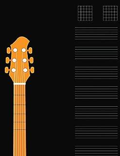 Guitar Tabs for Songs: Notebook for Kids & Adults Composing Guitar Music (Guitar Manuscript Paper)