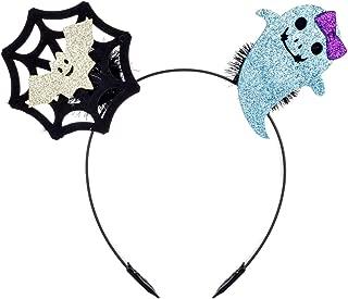 DDazzling Halloween Costume Headband Black Bat Skull Spider Headband Hair Accesory Party Favors