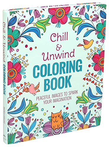 Chill & Unwind Coloring Book