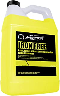 Nanoskin NA-IFE128 IRON FREE Paint, Wheel And Glass Decontamination Fall Out Remover - 1 Gallon, 128. Fluid_Ounces