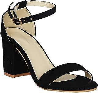 Rgk's Women's Ankle Strap Block Heels Sandal