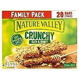 Nature Valley Crunchy Granola Bars Oats & Honey Family Pack - 10 x
