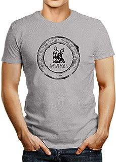Idakoos German Shepherd Wiggle Butts Club Stamp T-Shirt