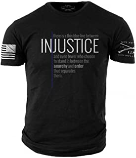 Grunt Style Thin Blue Line Men's T-Shirt
